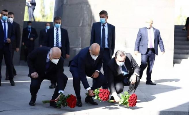 Dün Ermenistan'a ayak basan Yunan Bakan sonrası taraflar değişti