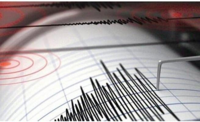 Ege Denizi'nde 4,3 büyüklüğünde korkutan deprem