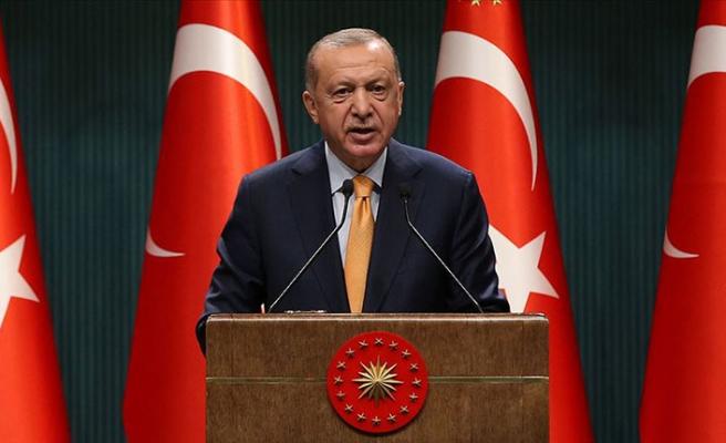 Cumhurbaşkanı Erdoğan, Azerbaycan'ın Bağımsızlık Günü'nü tebrik etti