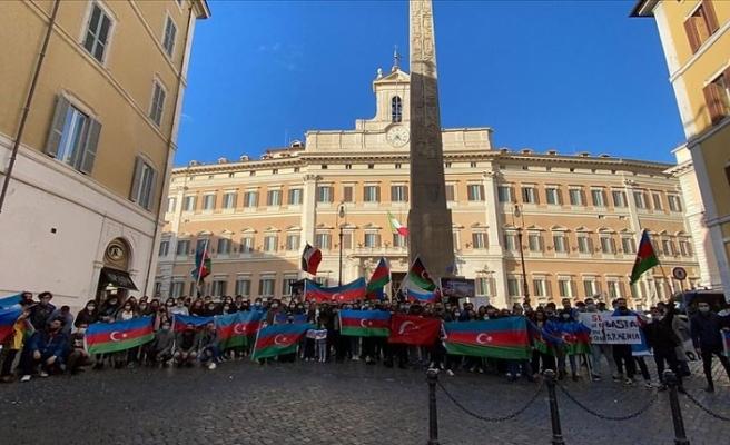 Ermenistan'a bir protesto da İtalya'dan