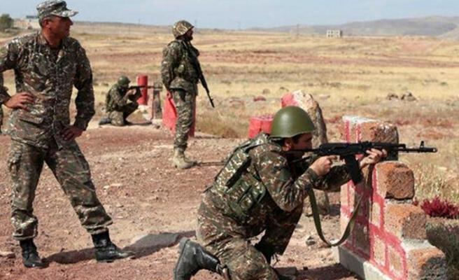 Ermenistan ordusu ateşkese rağmen sızma girişiminde bulundu