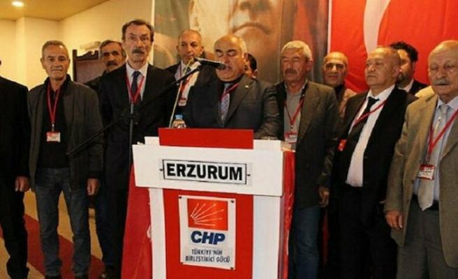 Erzurum'da CHP'den toplu istifa
