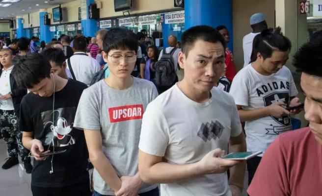 Filipinler, vize ihlalinde bulunan binlerce Çinlinin ülkeden ayrılmasını istedi