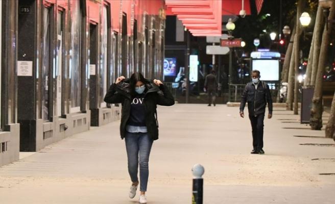 Fransa'da günlük Kovid-19 vaka sayısında en yüksek rakama ulaşıldı