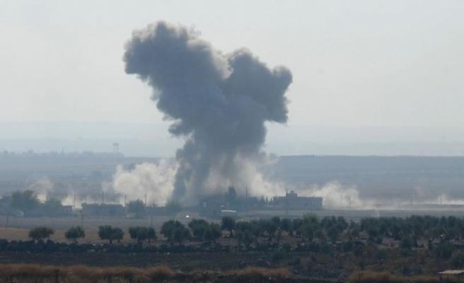 İran destekli terörist gruplar Suriye'de vuruldu