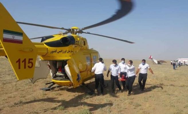 İran'da eğitim uçağı düştü: 1 yaralı