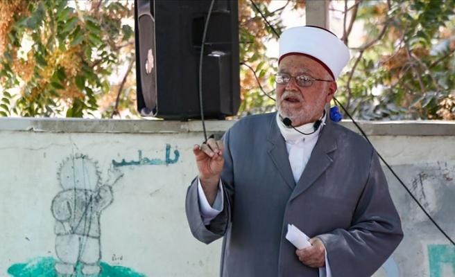 İsrail, Mescid-i Aksa İmam Hatibi Şeyh Sabri'yi tehdit etti