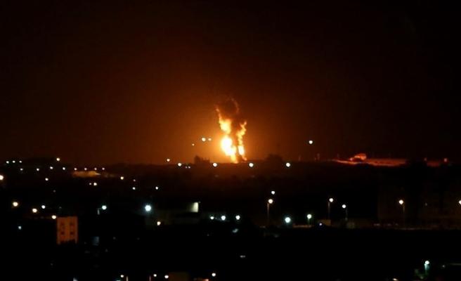 İsrail'den Gazze'ye roketle saldırdı