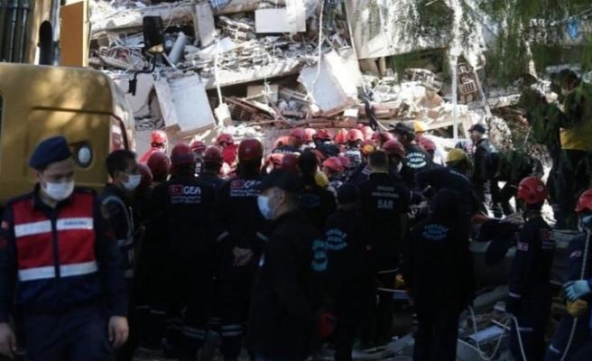 AFAD açıkladı! İzmir depreminde can kaybı 36 oldu