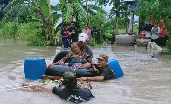 Kamboçya'da aşırı yağış: 11 ölü
