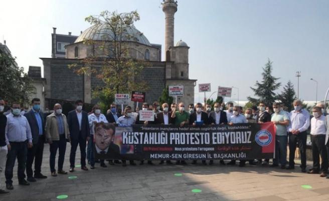 Karadeniz'de Fransa'nın İslam karşıtı tutumu kınandı