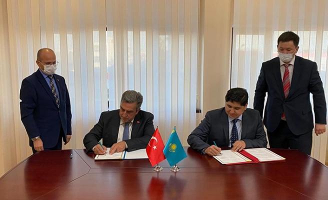 Kazakistan ile Türkiye'den uzay alanında iş birliği