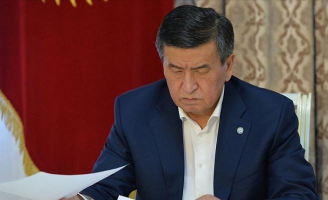 Kırgızistan Cumhurbaşkanı Ceenbekov, Caparov'un Başbakanlığını veto etti