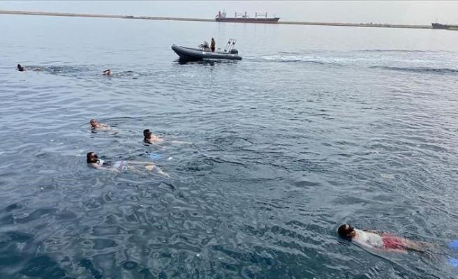 Libyalı askerlere SAS eğitimi veriliyor