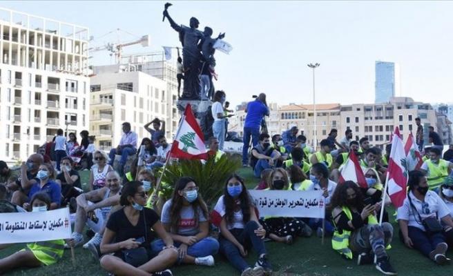 Lübnan'da sokaklar yine hareketli