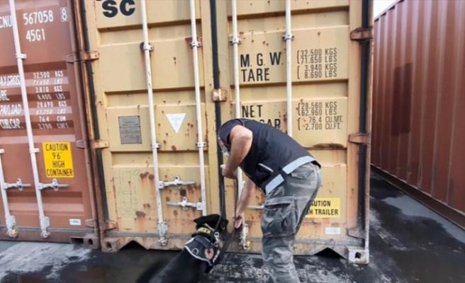 Mersin Limanı'nda kokain baskını: 220 kilogram ele geçirildi