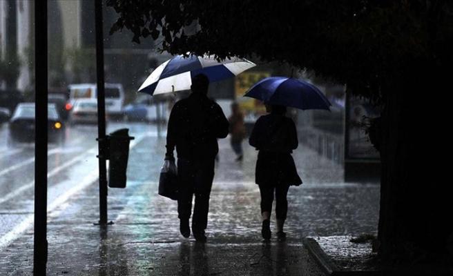 Meteoroloji'den 12 ile sarı kod ile uyarı: Kuvvetli yağış geliyor