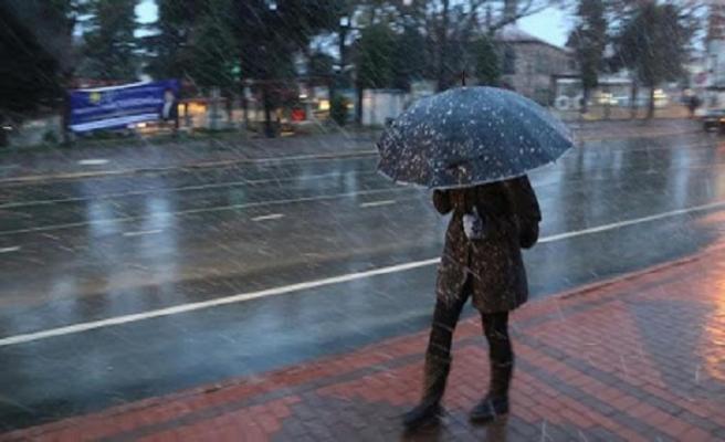 Meteorolojiden hafta sonu yağış uyarısı