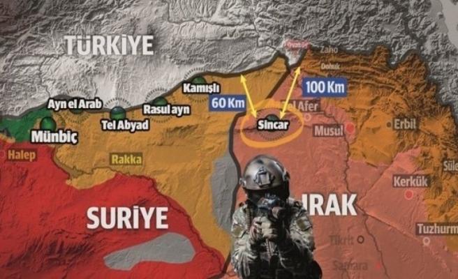 Musul'un Sincar ilçesi PKK yuvası olmaya devam ediyor