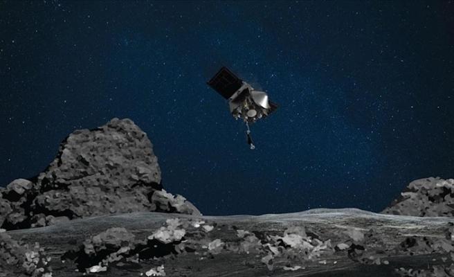 NASA'nın uzay aracı gök taşı Bennu'dan numune alacak