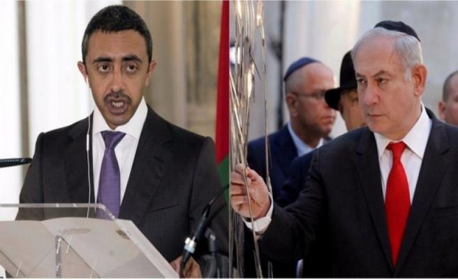 Netanyahu ve Zayed yüz yüze görüşmeye karar verdi