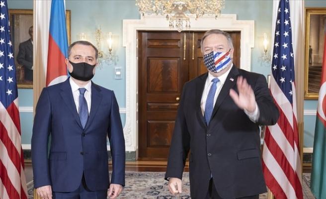 ABD ve Azerbaycan dışişleri bakanları Dağlık Karabağ'daki durumu görüştü