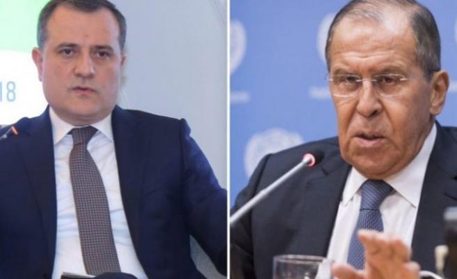 Rus ve Azeri Dışişleri Bakanları Dağlık Karabağ'ı konuştu