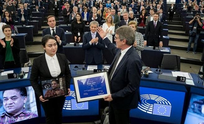 Sakrarov ödülü Belaruslu muhalif kadınların