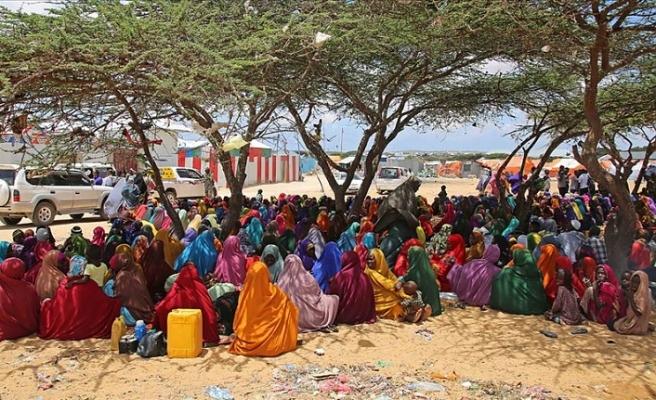 Somali'de feci tablo! 341 binden fazla kişi yerinden oldu