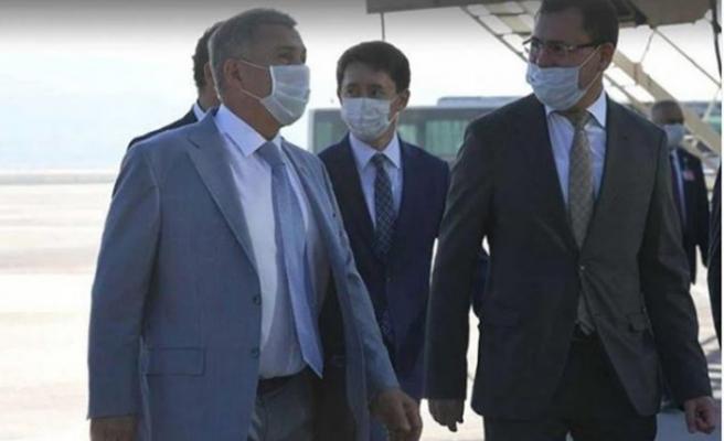 Tataristan Cumhurbaşkanı İzmir'e geldi
