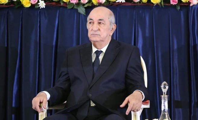 Cezayir Cumhurbaşkanı Tebbun Kovid-19 nedeniyle tedavi altına alındı