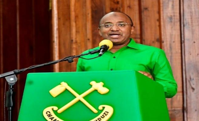 Türkiye mezunu Dr. Hüseyin Mwinyi Zanzibar Cumhurbaşkanı seçildi