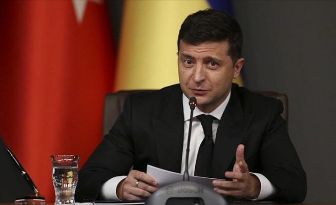 Ukrayna Devlet Başkanı Zelenskiy'den Türkiye'ye geçmiş olsun mesajı