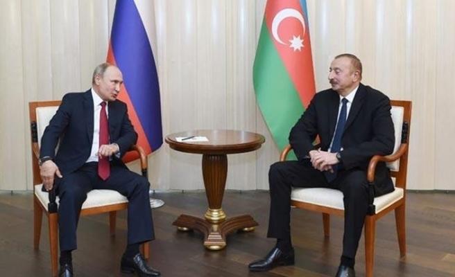 Aliyev'den Putin'e: Türkiye olmazsa anlaşma çöptür
