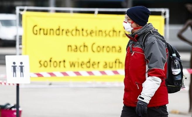 Almanya'da Kovid-19'dan dolayı yoğun bakımda bulunanların sayısı en yüksek seviyede