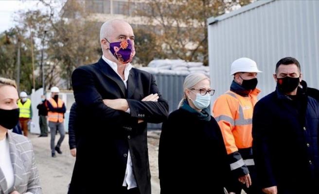 Arnavutluk Başbakanı Rama'dan Türkiye tarafından inşa edilecek deprem konutlarına övgü