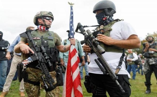 Asıl tehlike ABD'de şiddet eğilimli aşırı sağ zihniyet