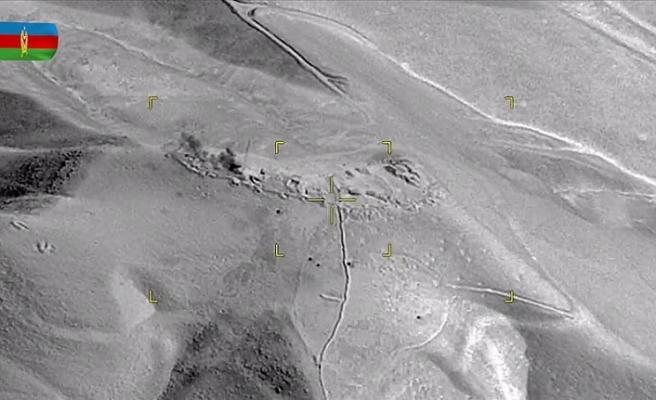Azerbaycan, Ermenistan mevzilerini  kamikaze İHA'larla vurdu!