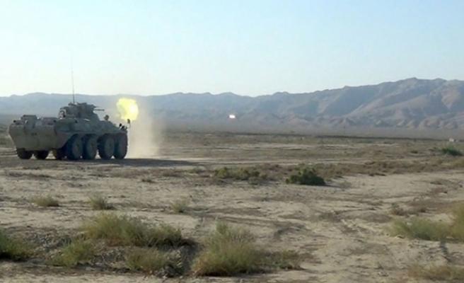 Azerbaycan ordusundan nokta atışı! Ermenistan'ın havan topu atış noktaları vuruldu