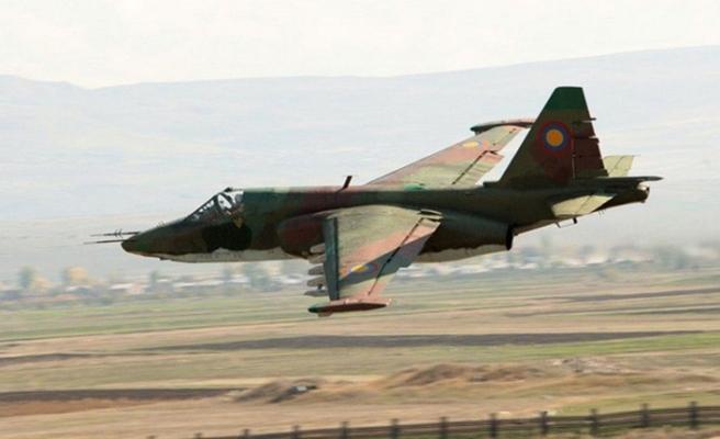 Azerbaycan ordusu, bir SU-25 savaş uçağı daha düşürdü