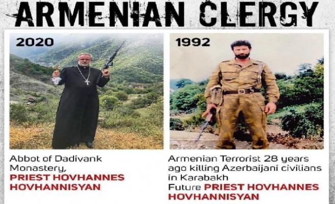 Azerbaycan'ın eski İstanbul Başkonsolosu Karabağ'da teröristlere katılan din adamını ifşa etti