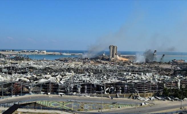 Beyrut'ta patlamada zarar gören silolar yıkılacak