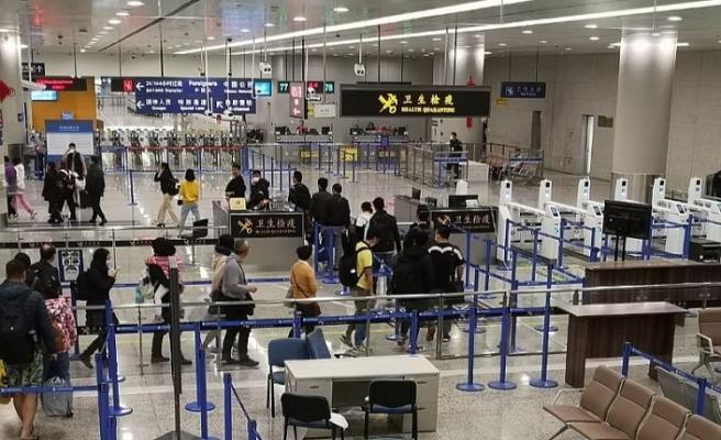 Çin'in Şangay Pudong havalimanında SARS iddiası!