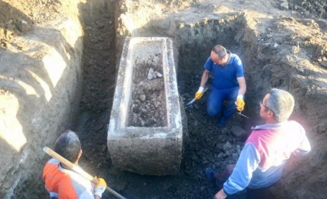 Çorum'da antik lahit bulunan bölge Arkeolojik Sit Alanı ilan edildi
