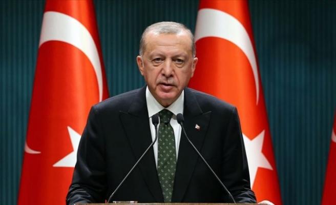 Cumhurbaşkanı Erdoğan'dan G20 Liderler Zirvesi'ne video mesaj