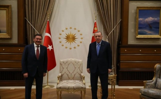 Erdoğan ve Melih Gökçek'in dikkat çeken buluşması