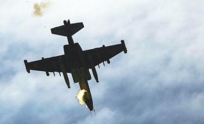 Ermenistan'a ait saldırı hazırlığındaki SU-25 uçağı düşürüldü