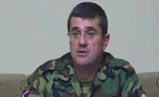 İçinde Arayik Harutyunyan'ın bulunduğu askeri konvoy imha edildi