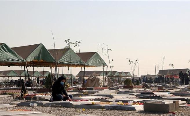 İran'da Kovid-19 nedeniyle 1 günde 406 kişi daha öldü