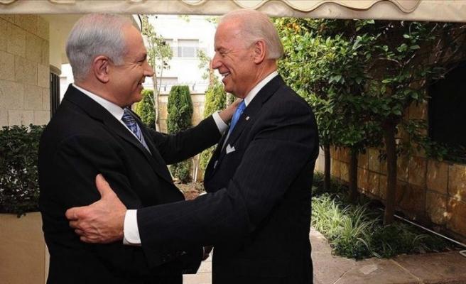 İsrail Başbakanı Netanyahu Biden'ı tebrik etti